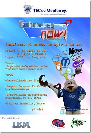 TEChnologyNowMailPoster