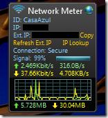 Wirless Network Meter